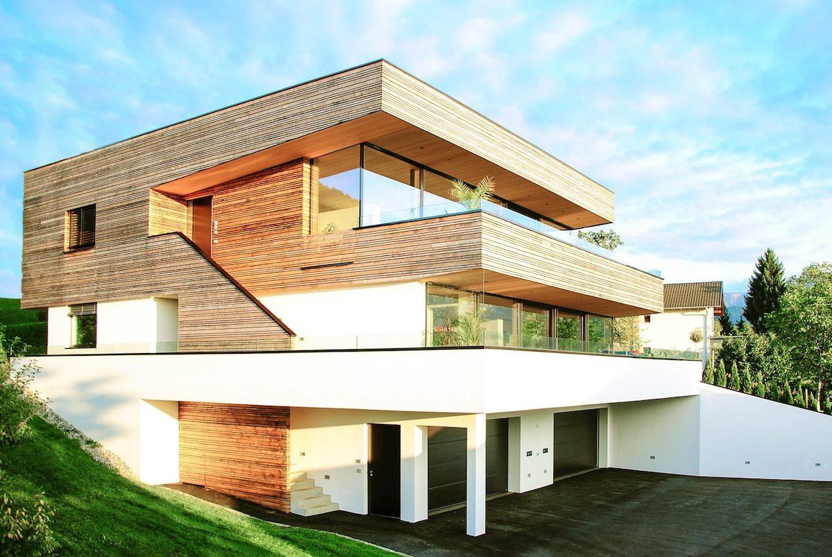 Holzhaus der Firma Thoma Holzbau GmbH